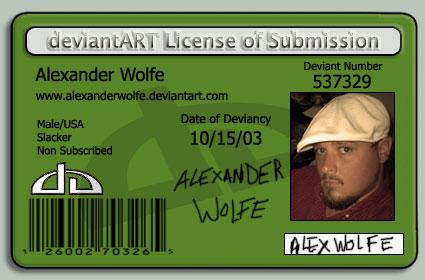 AlexanderWolfe's Profile Picture