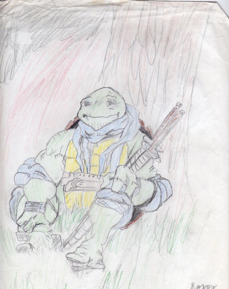 Leonardo Colored by AlexanderWolfe