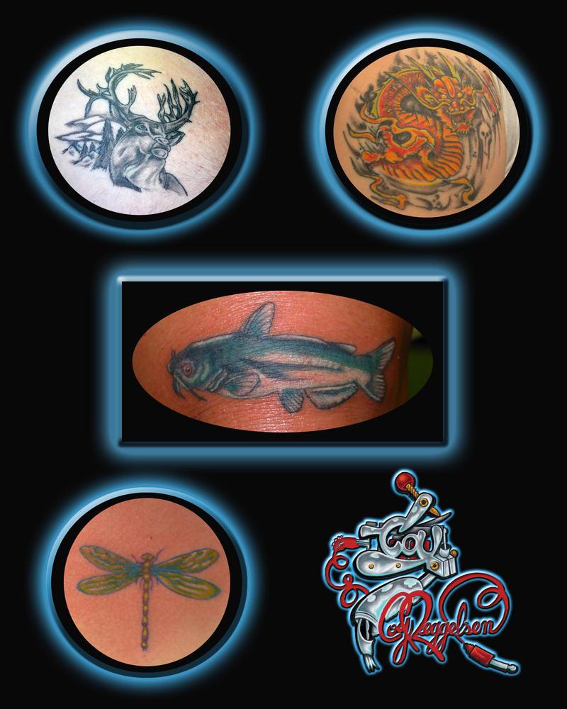 tattoos - dragonfly tattoo