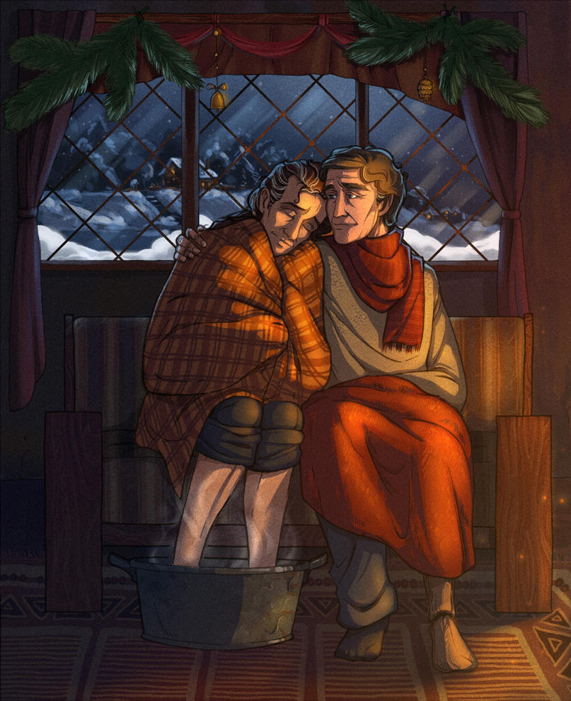 Silent night by Janirah