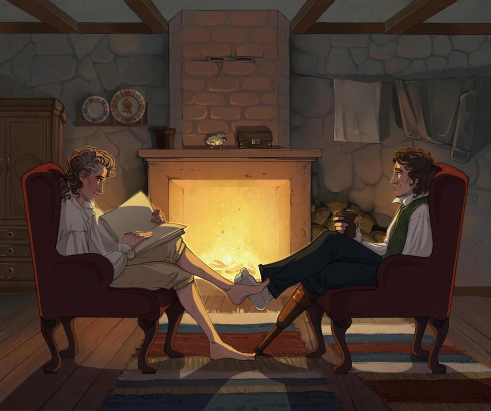 Domestic life by Janirah