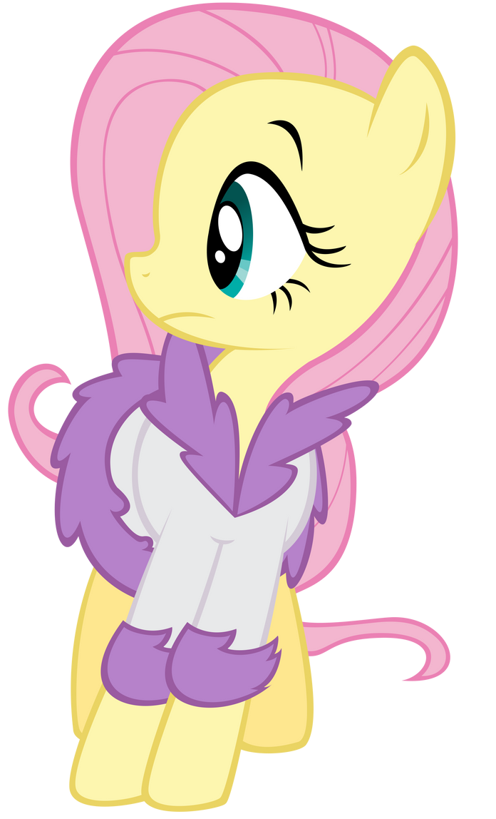Surprised Fluttershy by thatguy1945