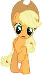 Surprised Applejack