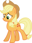 Applejack: 'What the hay?'