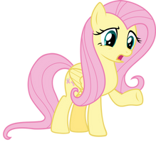 Fluttershy - ''Huh?'' by thatguy1945