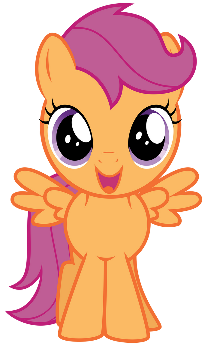 Excited Scootaloo by t...