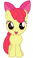 Excited Apple Bloom