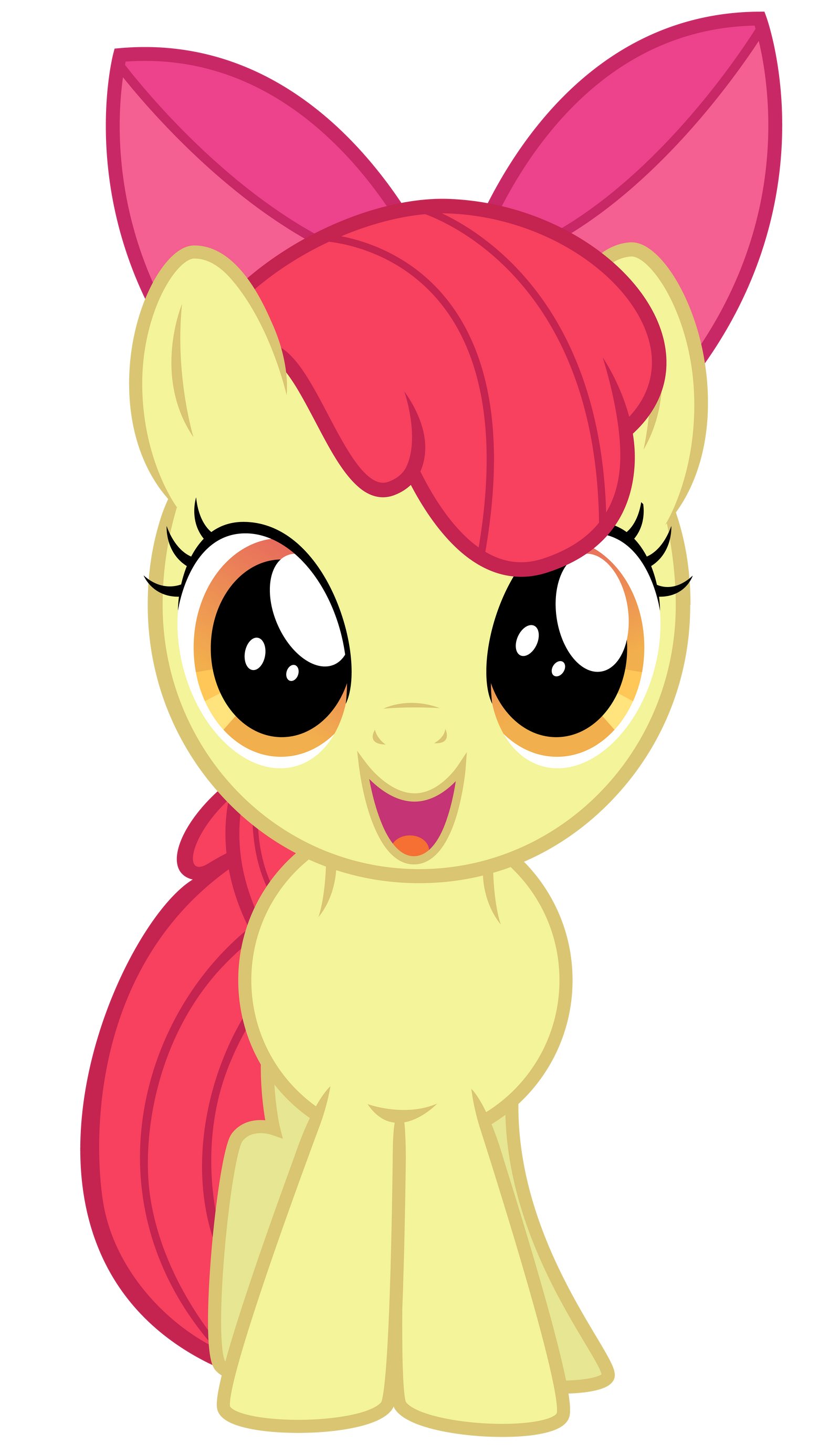Excited Apple Bloom
