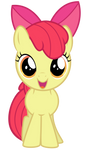 Excited Apple Bloom by thatguy1945