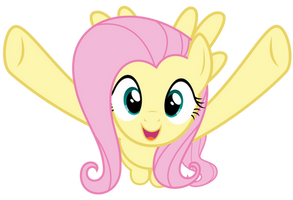 Fluttershy wants to hug you by thatguy1945