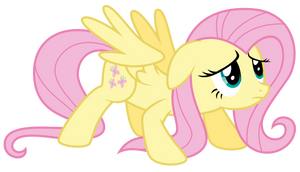 Fluttershy is... umm... ready? by thatguy1945