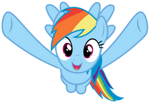 Rainbow Dash wants to hug you by thatguy1945