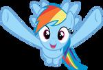 Rainbow Dash wants to hug you