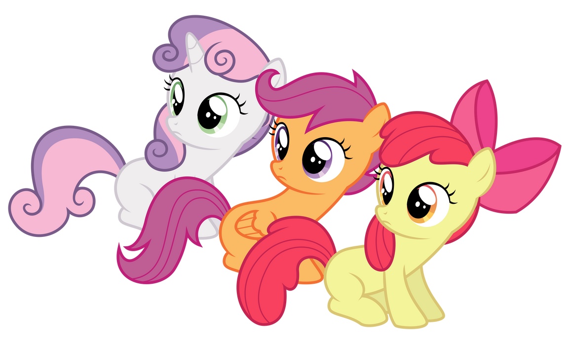 Cutie mark crusaders 39 39 huh 39 39 by thatguy1945 on deviantart - My little pony cutie mark wallpaper ...