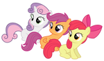 Cutie mark crusaders - ''huh?''