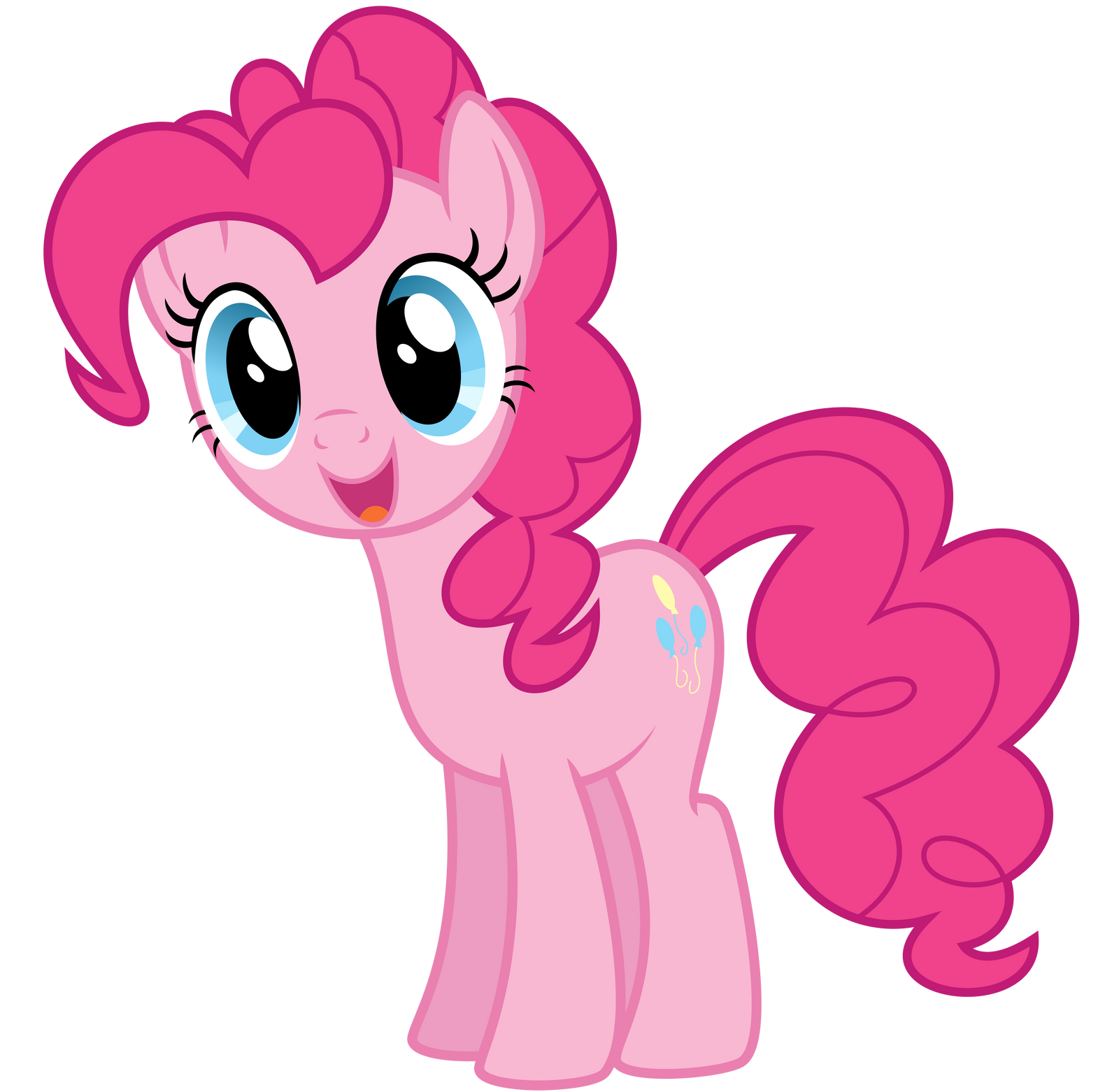 Equestria Girls Pinkie Pie Vector by icantunloveyou on