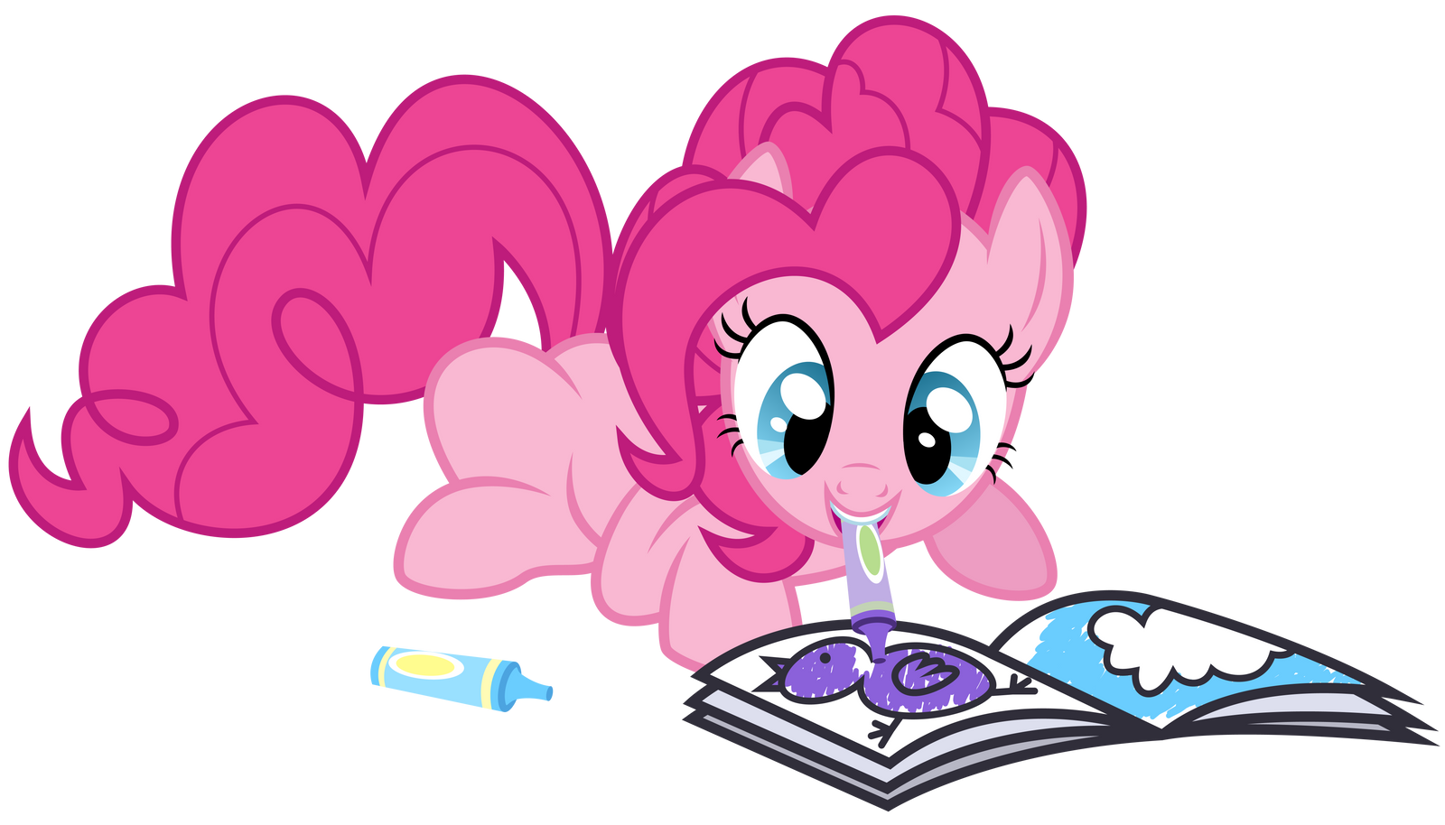 sad pinkie pie coloring pages - photo#1