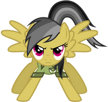Daring do - Epic face by thatguy1945
