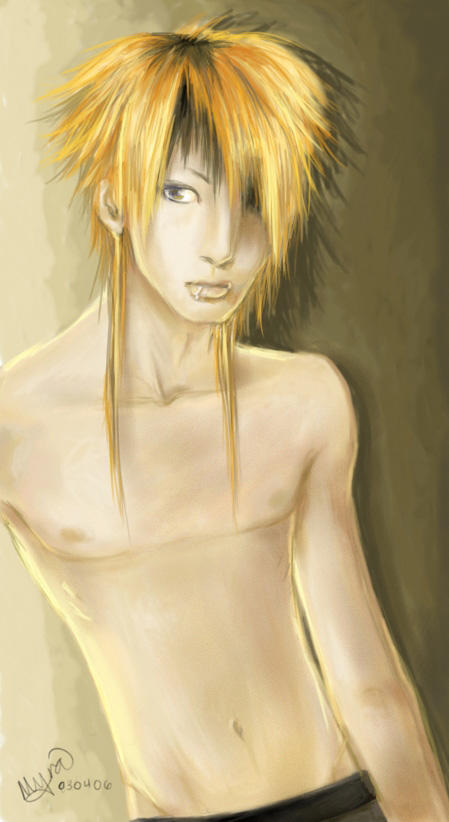 Alice nine !!!*¬¬* Shirtless_Saga_by_oo4