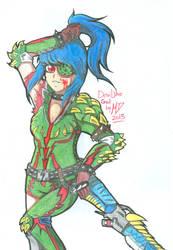 A Devilish Gunner by mimichi1234312