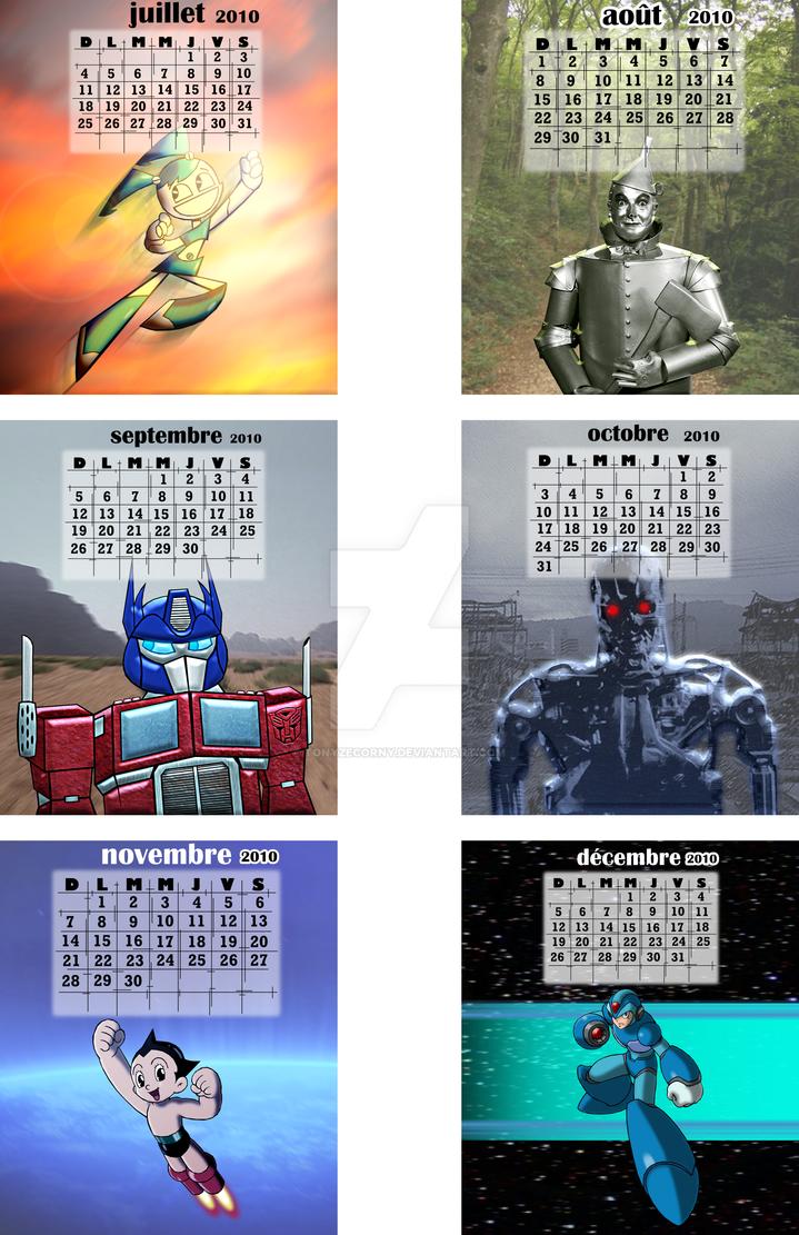 Calendar - Robots 2010_2-2 by gagaman92