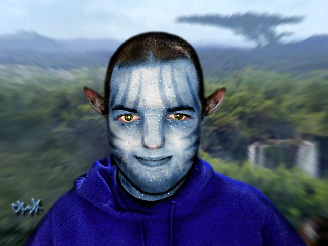Na'vi Tony by gagaman92