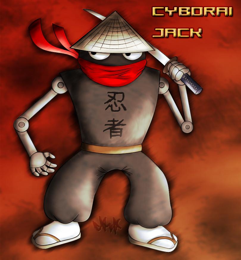 Cyborai Jack by gagaman92