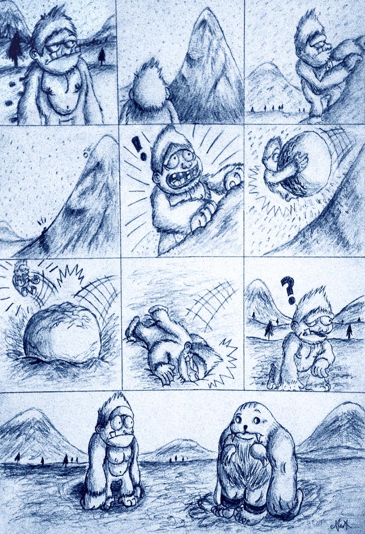 Yeti Adventure by gagaman92