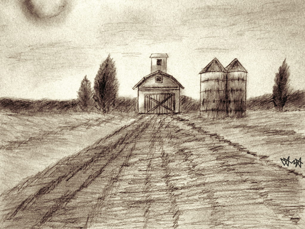 Nowhere farm by gagaman92