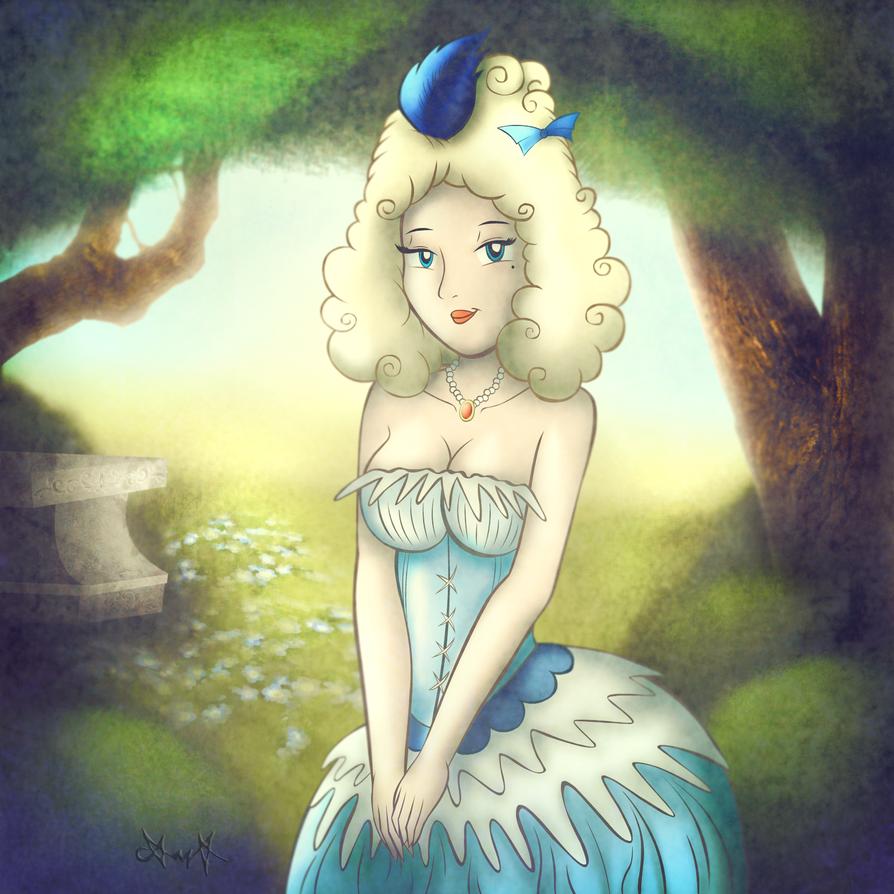 Rococo lady by gagaman92