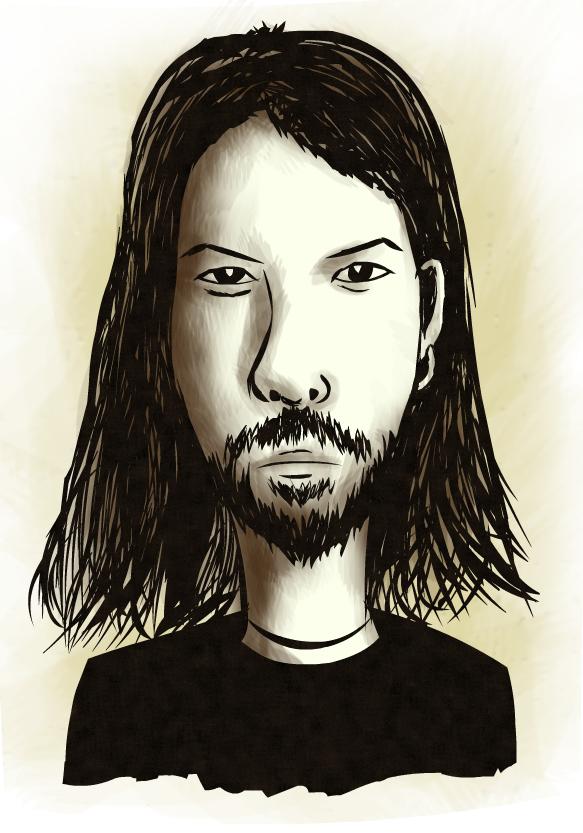 Richard D. James aka Aphex Twin by gagaman92