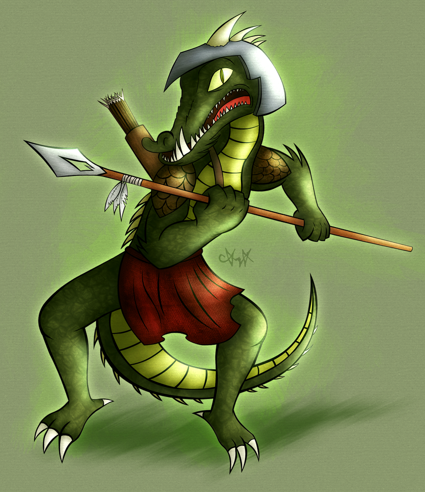 Lizard Hunter by gagaman92