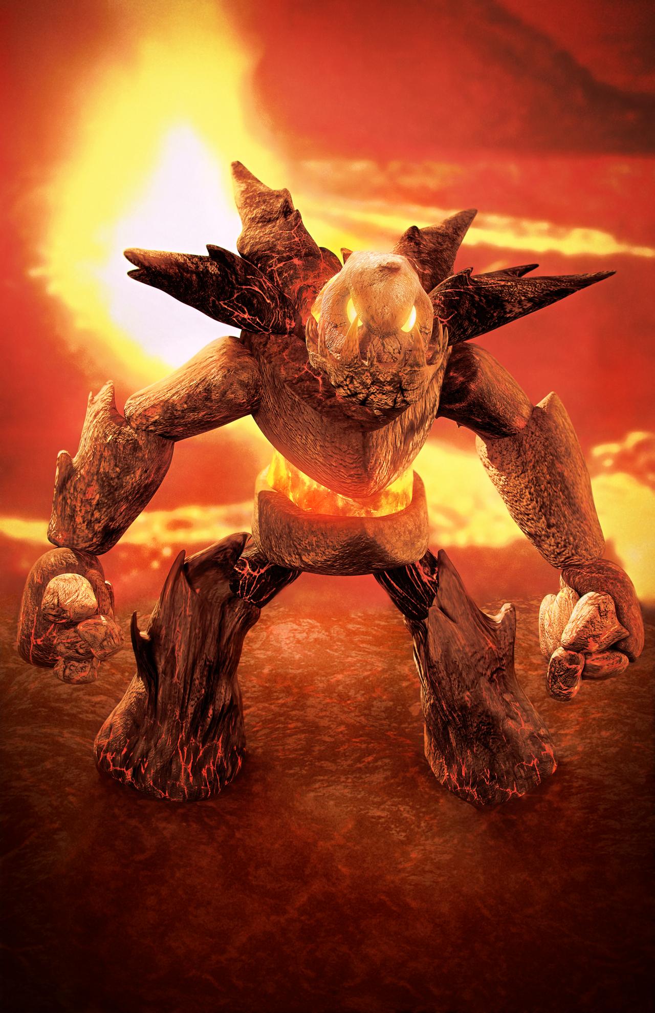 Fire Golem - chosen by gagaman92
