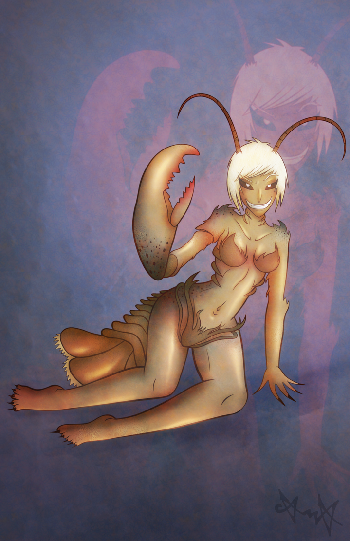 Lobster Lady by gagaman92