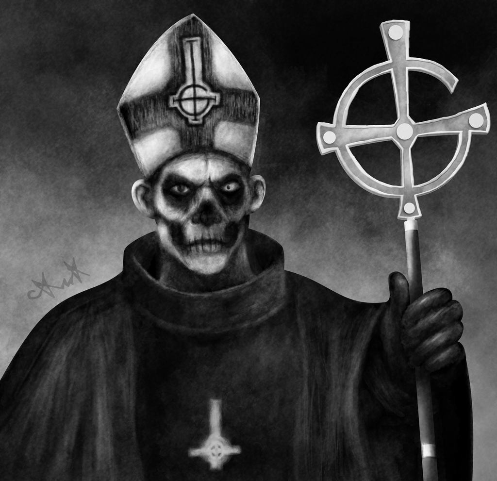 Request - Papa Emeritus II by gagaman92
