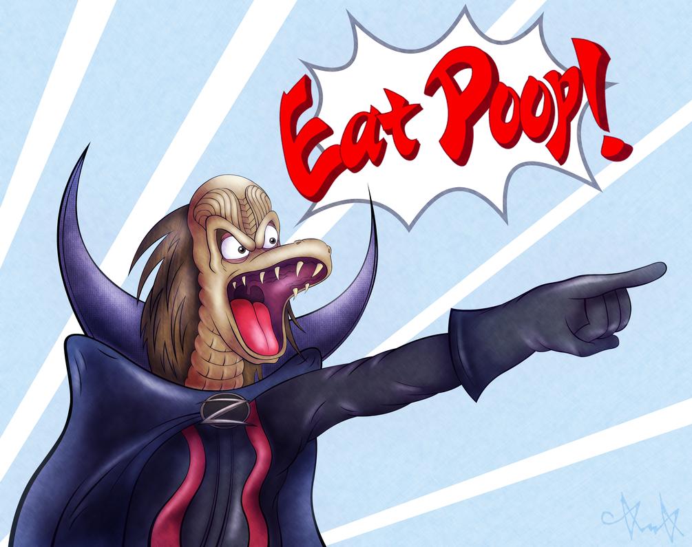 Ziltoid: Eat Poop! by gagaman92