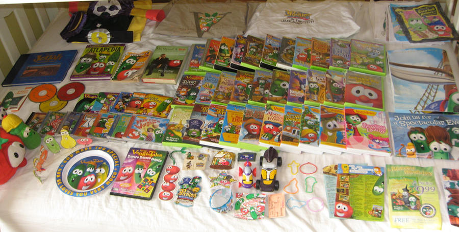 Veggietales God Wants Me To Forgive Them Vhs My veggietales collection