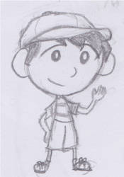 Chibi Jimmy Barclay by magictoast15