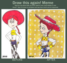 Draw this again: Jessie