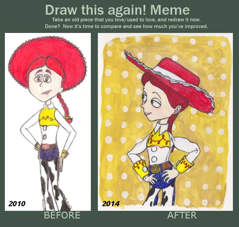 Draw this again: Jessie