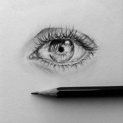 Quick little eye sketch