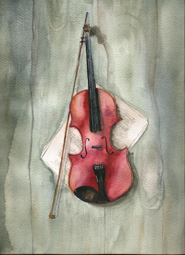 Violin by someowlsarenot