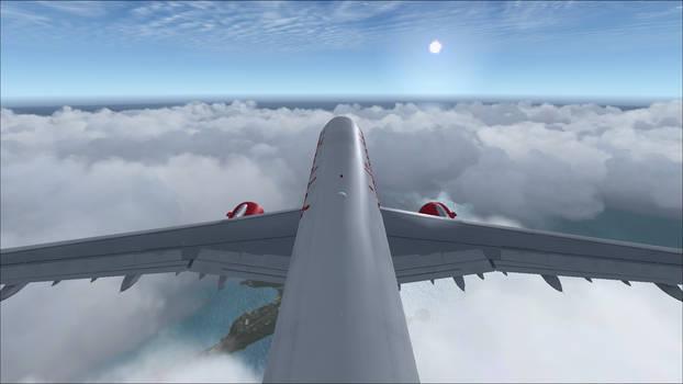 Air Berlin A321 Tail View