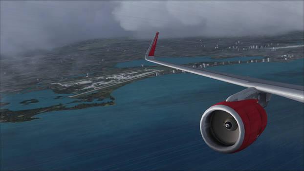 Air Berlin A321 Right View