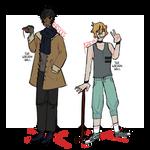 azryn and brekke || crowbar and scissors