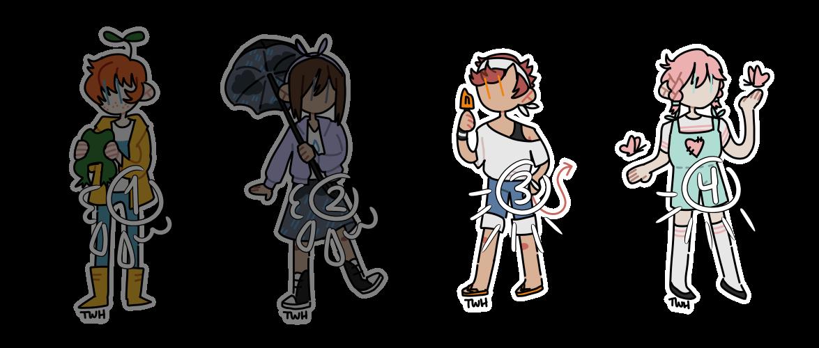 [OPEN] rainy day/sunny day