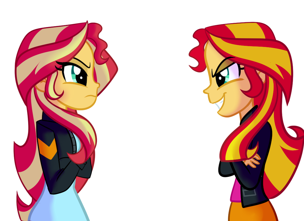 Sunset Vs Sunset: Commission By Wubcakeva by not-a-soda