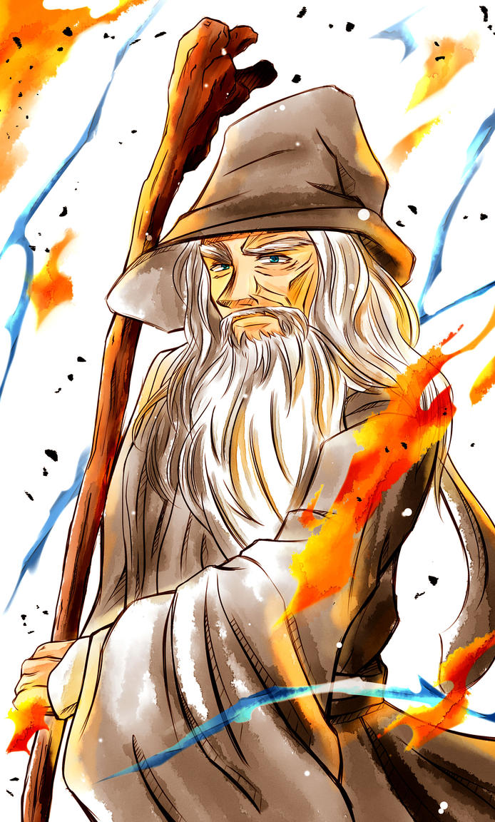 Lord of the Rings | Gandalf the Grey by OroNoDa