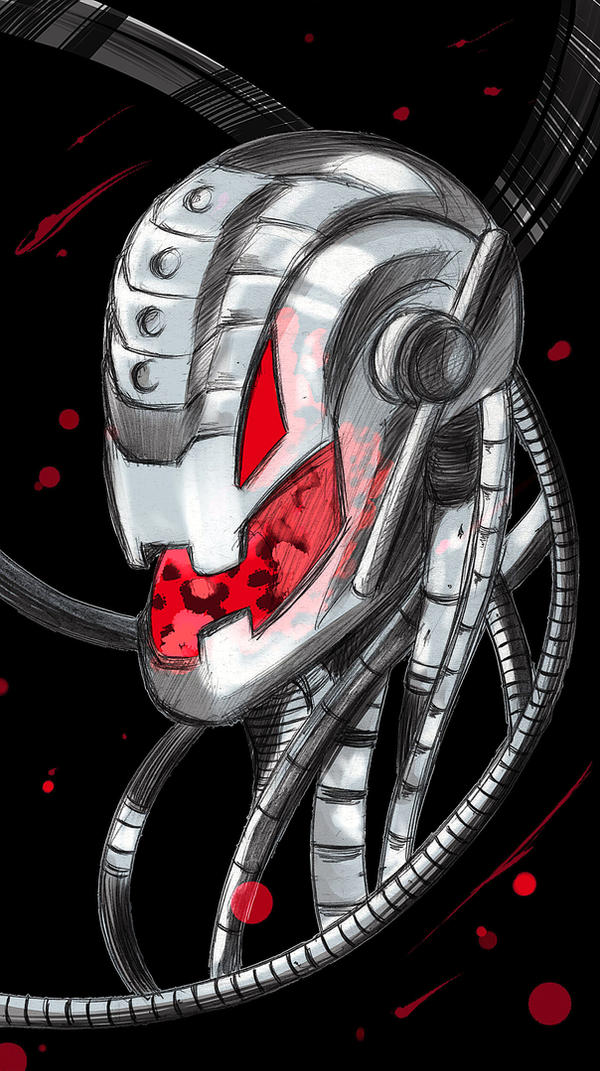 Marvel | Ultron by OroNoDa