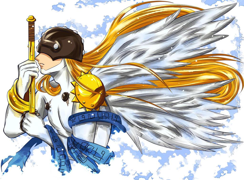 Digimon | Angemon by OroNoDa